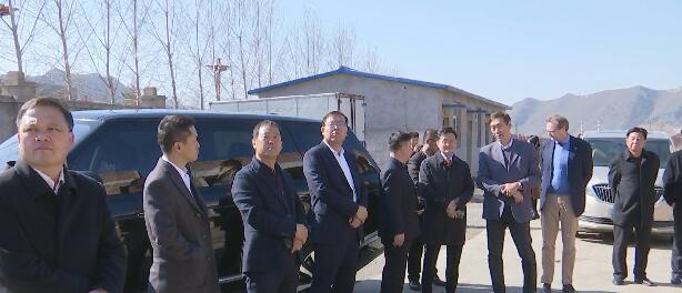 韩国三韩c1董事长韩承润一行来大正集团考察对接项目